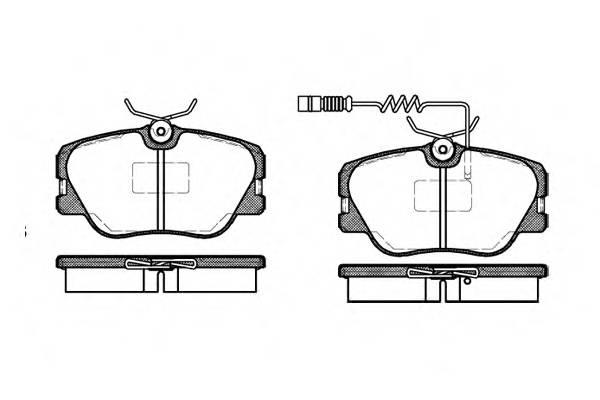 Тормозная система Гальмiвнi колодки, к-кт. PAGID арт. 218902