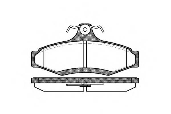 Тормозная система Гальмiвнi колодки, к-кт. PAGID арт. 264610