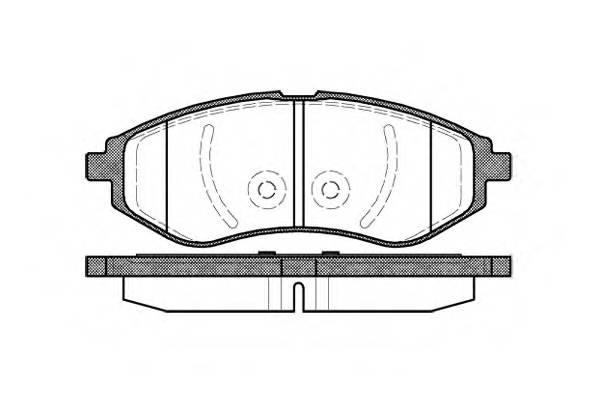 Тормозная система Гальмiвнi колодки, к-кт. PAGID арт. 298600