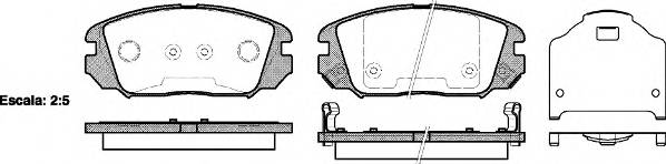 Тормозная система Гальмiвнi колодки, к-кт. PAGID арт. 2120402