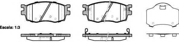 Тормозная система Гальмiвнi колодки, к-кт. ABE арт. 2120802