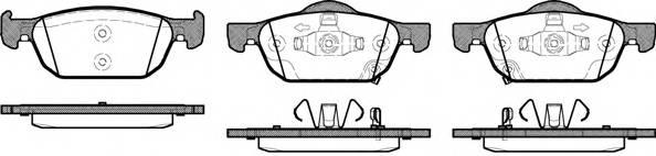 Тормозная система Гальмiвнi колодки, к-кт. ABE арт. 2138402