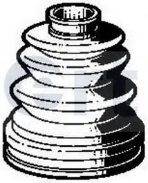 Пильник ШРУС гумовий  змазка ERT 500139