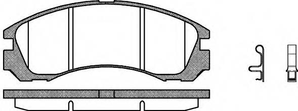Тормозная система Гальмiвнi колодки, к-кт. PAGID арт. 235432