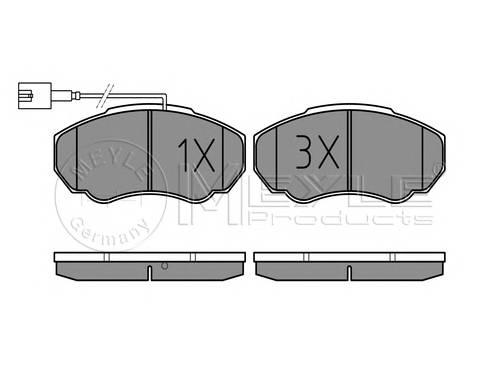 Тормозные колодки Тормозные колодки дисковые PAGID арт. 0252391719W