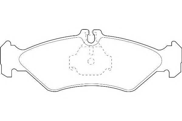 Тормозные колодки Тормозные колодки Wagner PAGID арт. WBP21621A