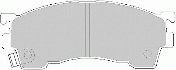 Тормозные колодки Тормозные колодки Ferodo PAGID арт. FDB984
