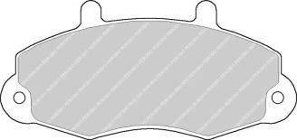 Тормозные колодки Тормозные колодки Ferodo PAGID арт. FVR700