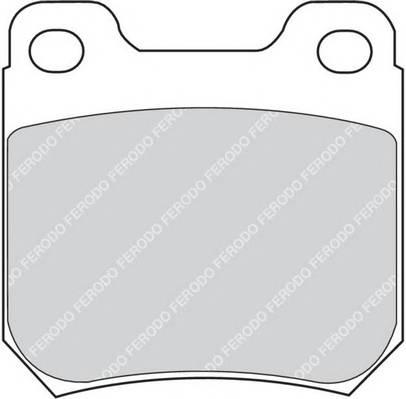 Тормозные колодки Тормозные колодки дисковые FERODO арт. FDB973