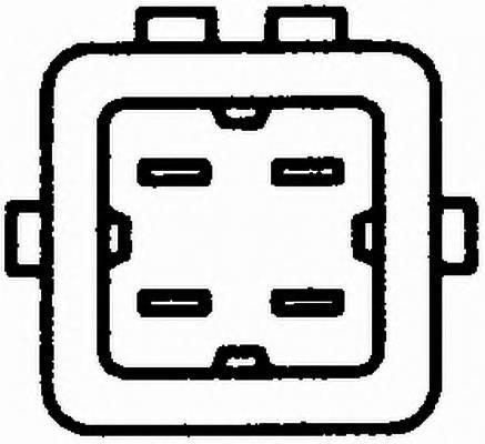Температурный датчик охлаждающей жидкости - легковой автомобиль HELLA 6PT009107541