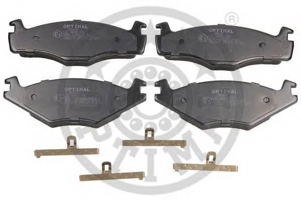 Тормозные колодки Тормозные колодки PAGID арт. 9968