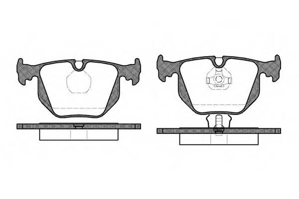 Тормозная система Гальмiвнi колодки, к-кт. PAGID арт. 238100