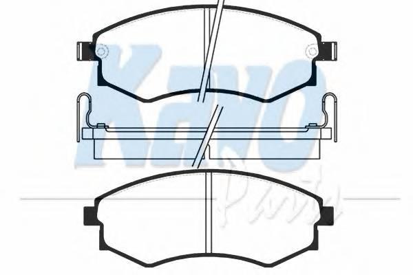 Тормозные колодки Тормозные колодки дисковые PAGID арт. BP3003