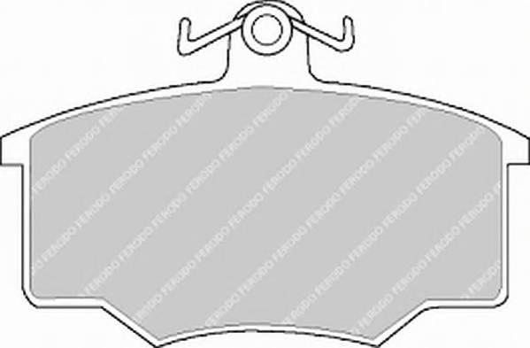 Тормозные колодки Тормозные колодки дисковые PAGID арт. FDB412