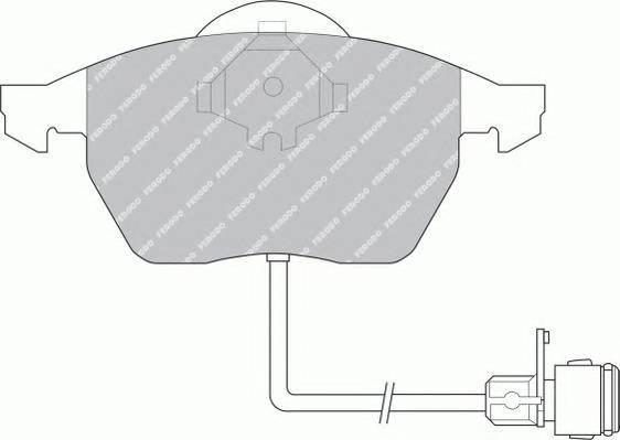 Тормозные колодки Тормозные колодки дисковые PAGID арт. FDB590