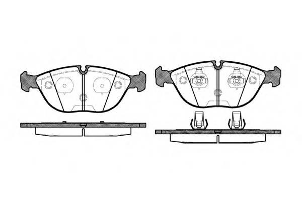 Тормозная система Гальмiвнi колодки, к-кт. PAGID арт. 259700