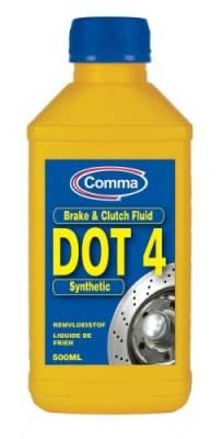 DOT 4 SYNT 500ml COMMA BF4500M