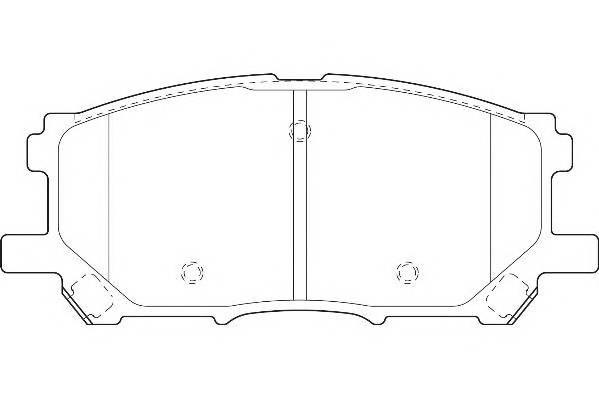 Тормозные колодки Тормозные колодки Wagner PAGID арт. WBP23989A