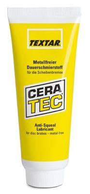 81000400(98501-0004) TEXTAR Смазка керамическая для суппорта 75мл TEXTAR 81000400