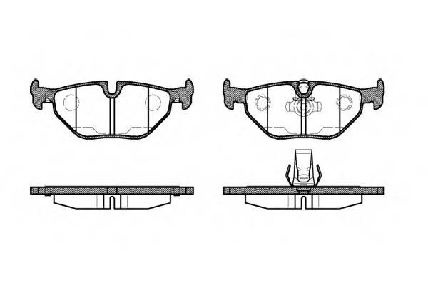 Тормозная система Гальмiвнi колодки, к-кт. PAGID арт. 226515