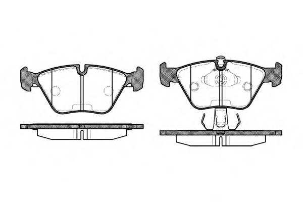 Тормозная система Гальмiвнi колодки, к-кт. PAGID арт. 227015