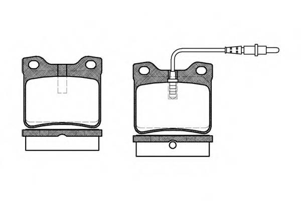 Тормозная система Гальмiвнi колодки, к-кт. PAGID арт. 232102