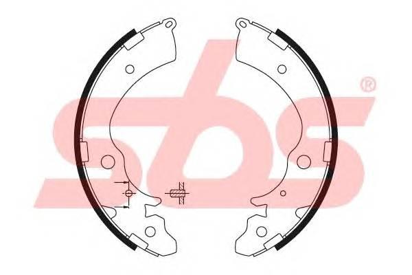 Тормозная система Гальмiвнi колодки, к-кт. PAGID арт. 18492726508
