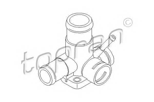 ФЛАНЕЦ СИСТ. ОХЛ. (ДЛЯ ДАТЧИКОВ) VW GOLF/PASSAT/POLO 1,9D 3/91- TOPRAN 107327