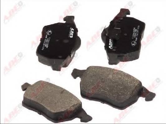 Гальмівні колодки, дискові ABE арт. C1G019ABE