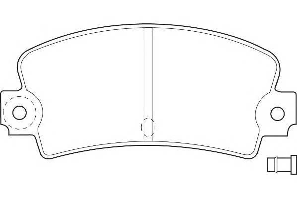 Тормозные колодки Тормозные колодки Wagner WAGNER арт. WBP20336A