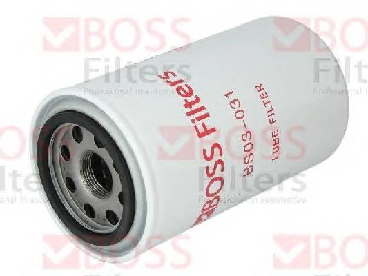 Масляные фильтры Фільтр масляний BOSSFILTERS арт. BS03031
