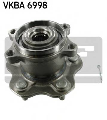 Підшипник роликовий і змазка (комплект) SKF VKBA6998