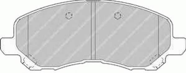 Тормозные колодки Тормозные колодки Ferodo PAGID арт. FDB1621