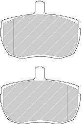 Тормозные колодки Тормозные колодки дисковые ABE арт. FVR989