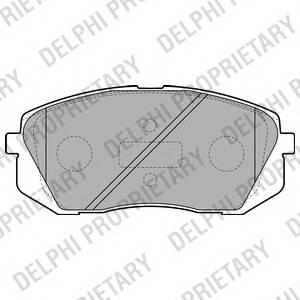 Гальмівні колодки, дискові ABE арт. LP2050