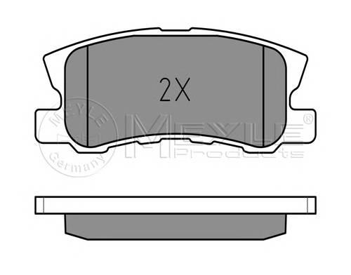 Тормозные колодки Тормозные колодки дисковые PAGID арт. 0252358216