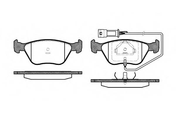 Тормозная система Гальмiвнi колодки, к-кт. PAGID арт. 243702
