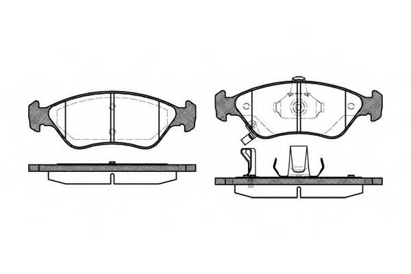 Тормозная система Гальмiвнi колодки, к-кт. PAGID арт. 264802