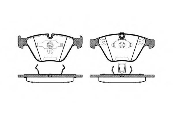 Тормозная система Гальмiвнi колодки, к-кт. PAGID арт. 285700