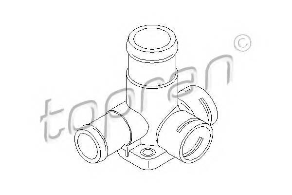 ФЛАНЕЦ СИСТ. ОХЛ. (ДЛЯ ДАТЧИКОВ) VW GOLF 1,6D/TD 88- TOPRAN 101456