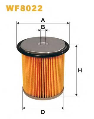 Фильтр топливный (PM 858/1) BOSCH арт. WF8022