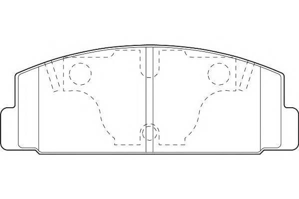 Тормозные колодки Тормозные колодки Wagner PAGID арт. WBP20328A