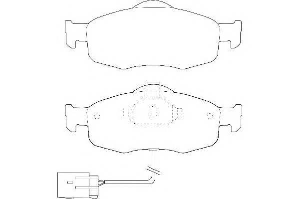 Тормозные колодки Тормозные колодки Wagner PAGID арт. WBP21395A