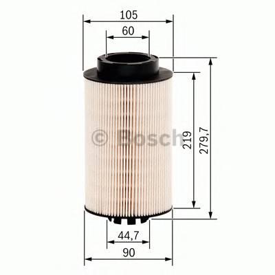 Топливные фильтры Топливный фильтр BOSCH арт. F026402032