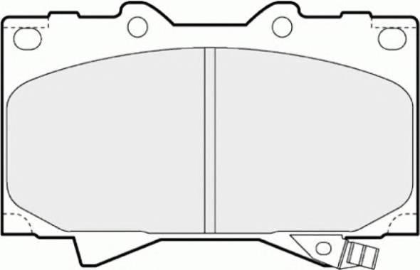 Тормозные колодки Тормозные колодки дисковые PAGID арт. FDB1456