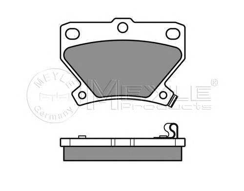 Тормозные колодки Тормозные колодки дисковые MEYLE арт. 0252352114W