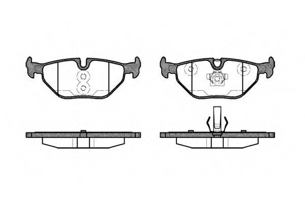 Тормозная система Гальмiвнi колодки, к-кт. PAGID арт. 226540