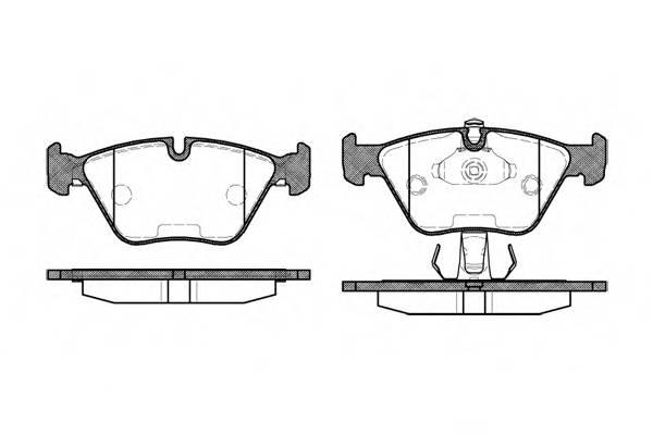 Тормозная система Гальмiвнi колодки, к-кт. PAGID арт. 227025