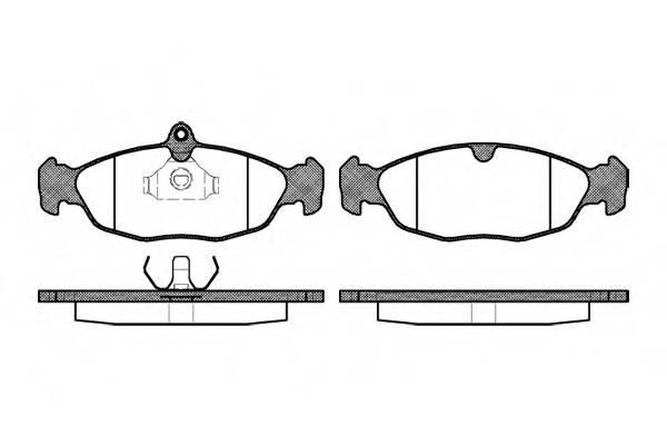 Тормозная система Гальмiвнi колодки, к-кт. PAGID арт. 239300
