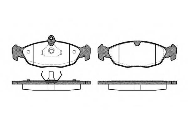 Тормозная система Гальмiвнi колодки, к-кт. PAGID арт. 239320